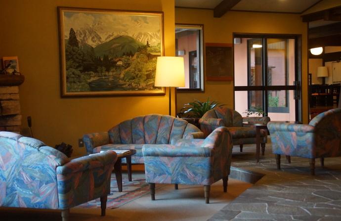 白馬アルパインホテル フロントロビー 写真