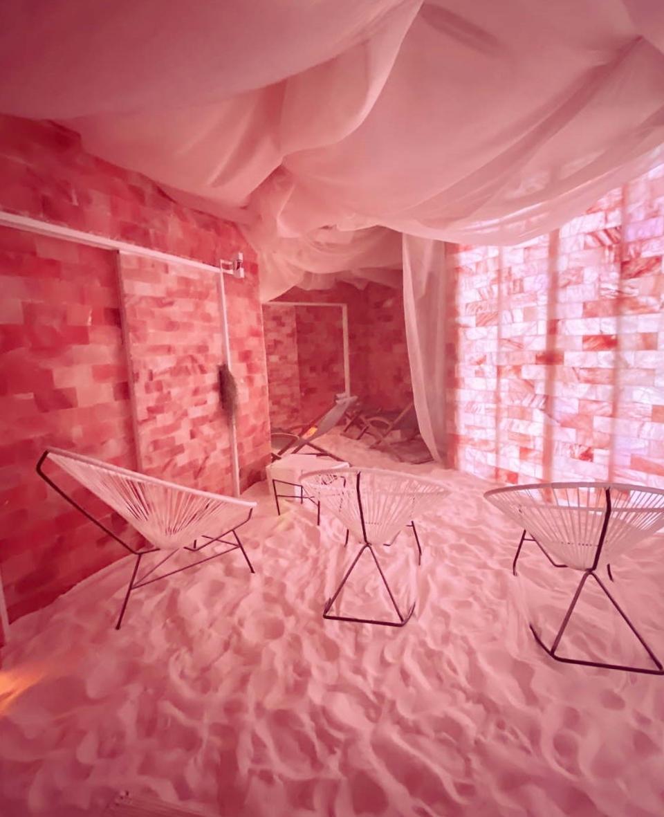 ソルトブレス 室内の様子