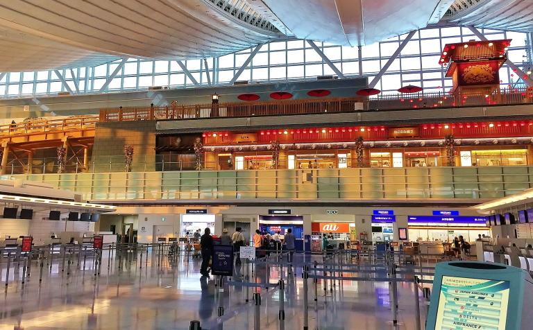 羽田空港 国際線ターミナル 和食レストラン