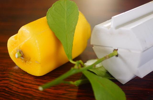 ハート型レモン 作り方