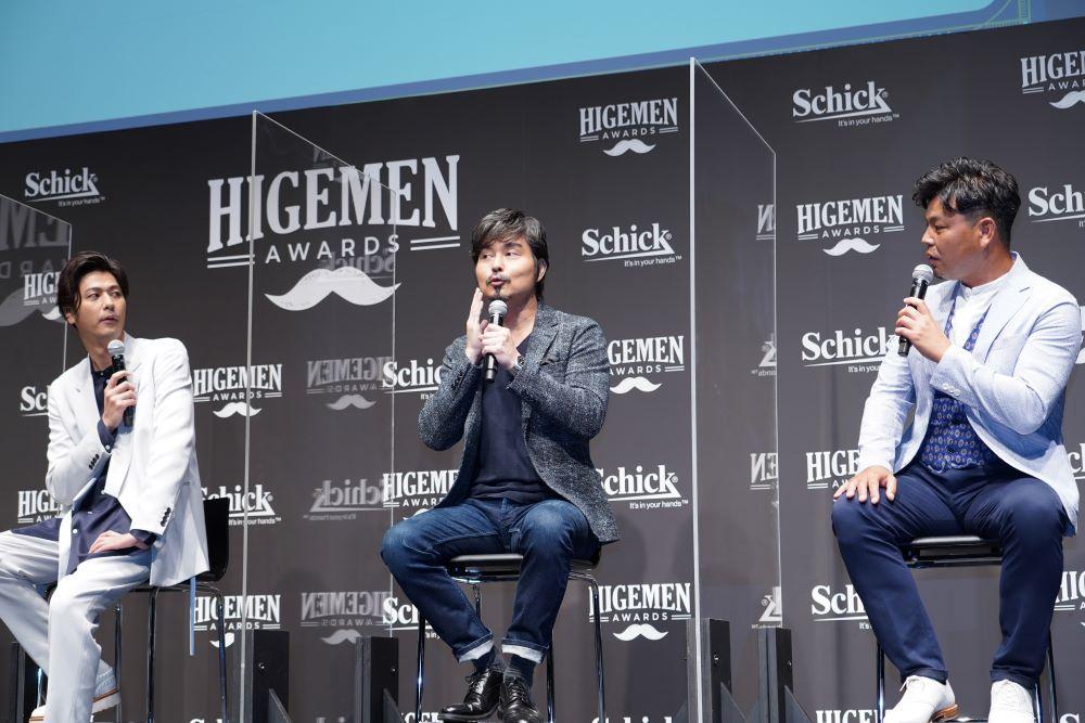 「HIGEMEN AWARDS 2021」 授与式 小澤征悦さん