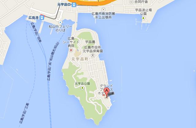 宇品島 地図