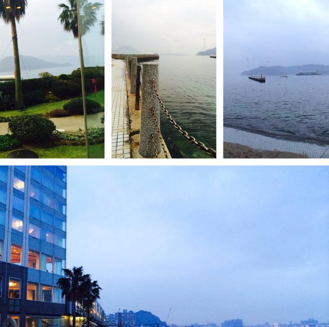 グランドプリンスホテル広島 眺め