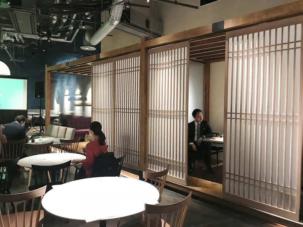 渋谷ヒカリエ 伊右衛門カフェ 個室
