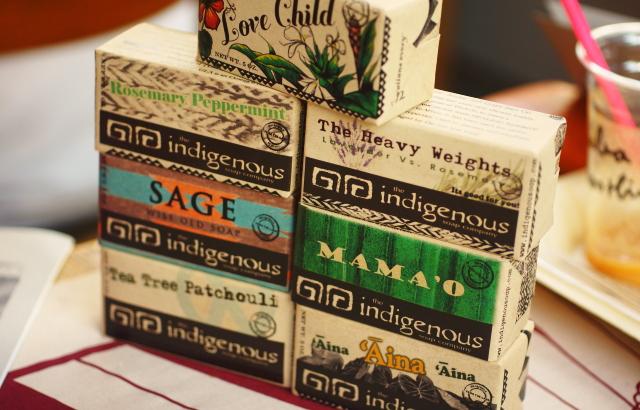 indigenousソープ 種類