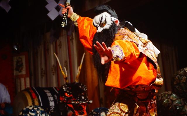 スサノオノミコト ヤマタノオロチ 神楽
