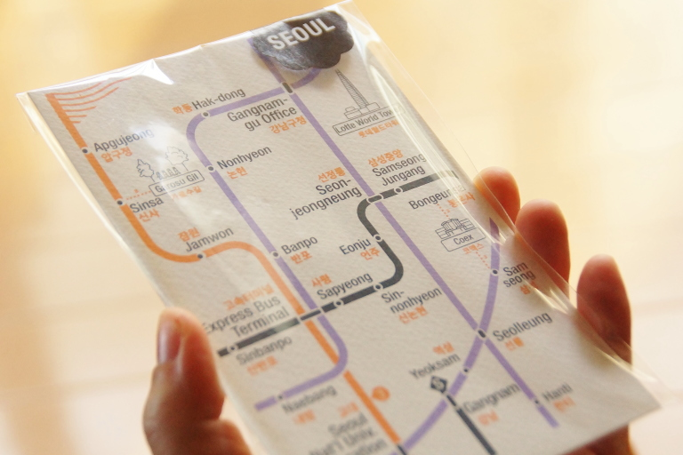 韓国土産 ポストカード