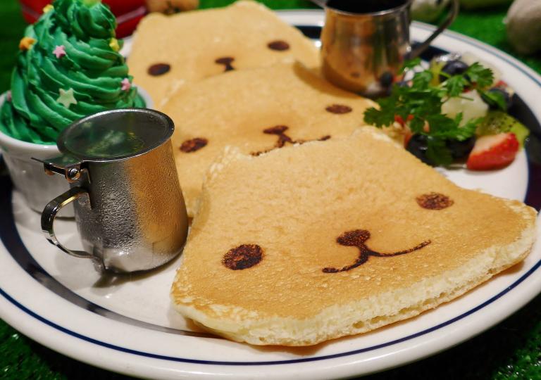 帰ってきた!のすのすパンケーキ~特製クリスマスバージョン~