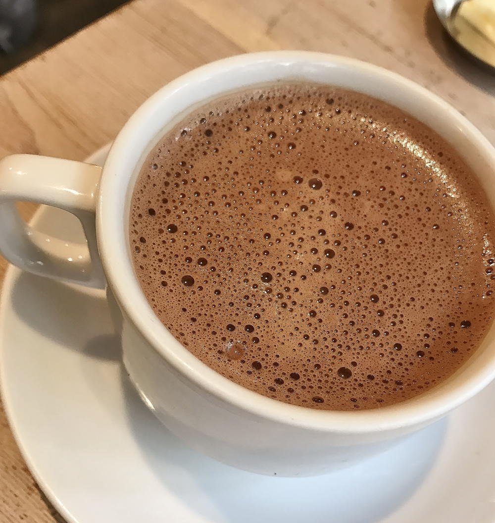 カタネベーカリー ホットチョコレート