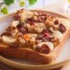 フルーツグラノーラ パン アレンジレシピ