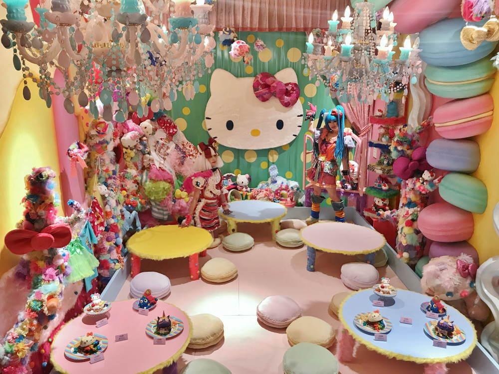 Mel-Tea Hello Kitty Roomとモンスターガール