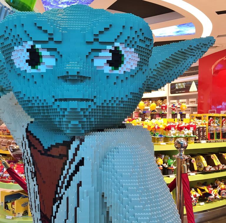 クアラルンプール空港 LEGOショップ