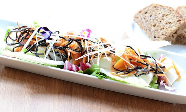 有機豆腐とひじきの和風サラディエール
