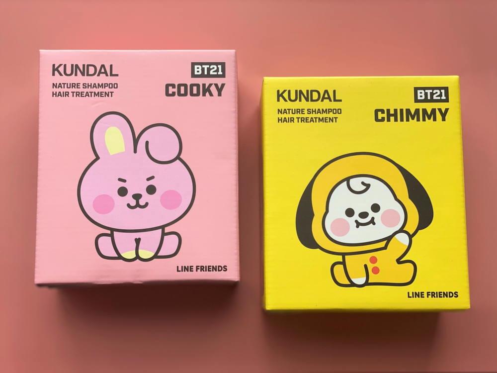 韓国ヘアケアブランド「KUNDAL」と BT21がタイアップ 天真爛漫な努力家CHIMMY ハート形の後姿、意外とムキムキなCOOKY