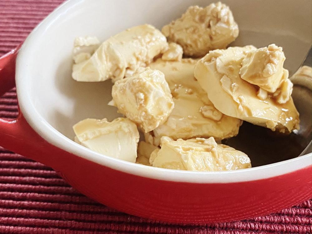 クリームチーズを燻製