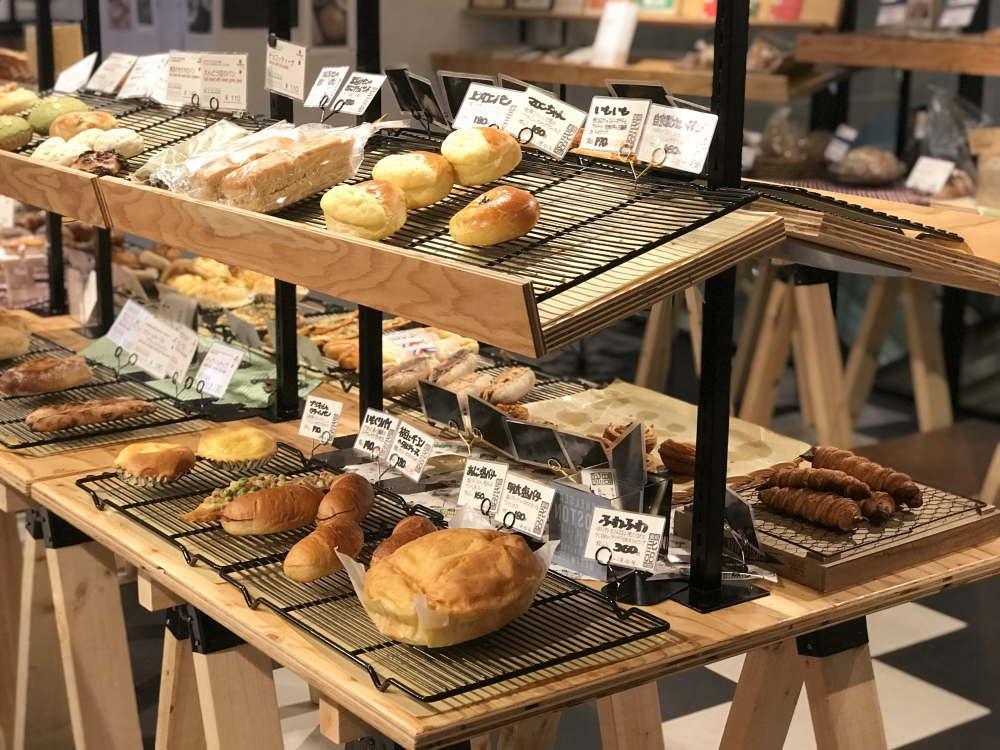 マルイ 京都パン市場の品揃え