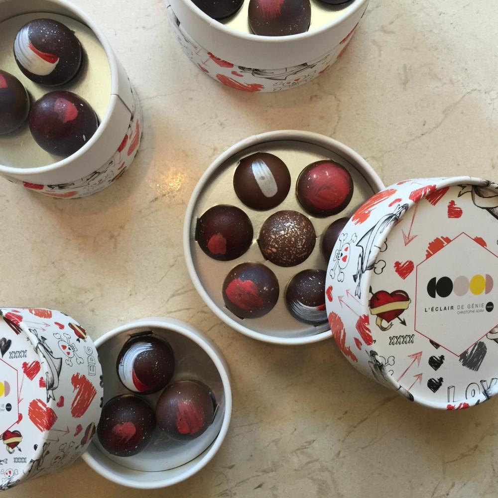 レクレール・ドゥ・ジェニ バレンタイン限定チョコレート