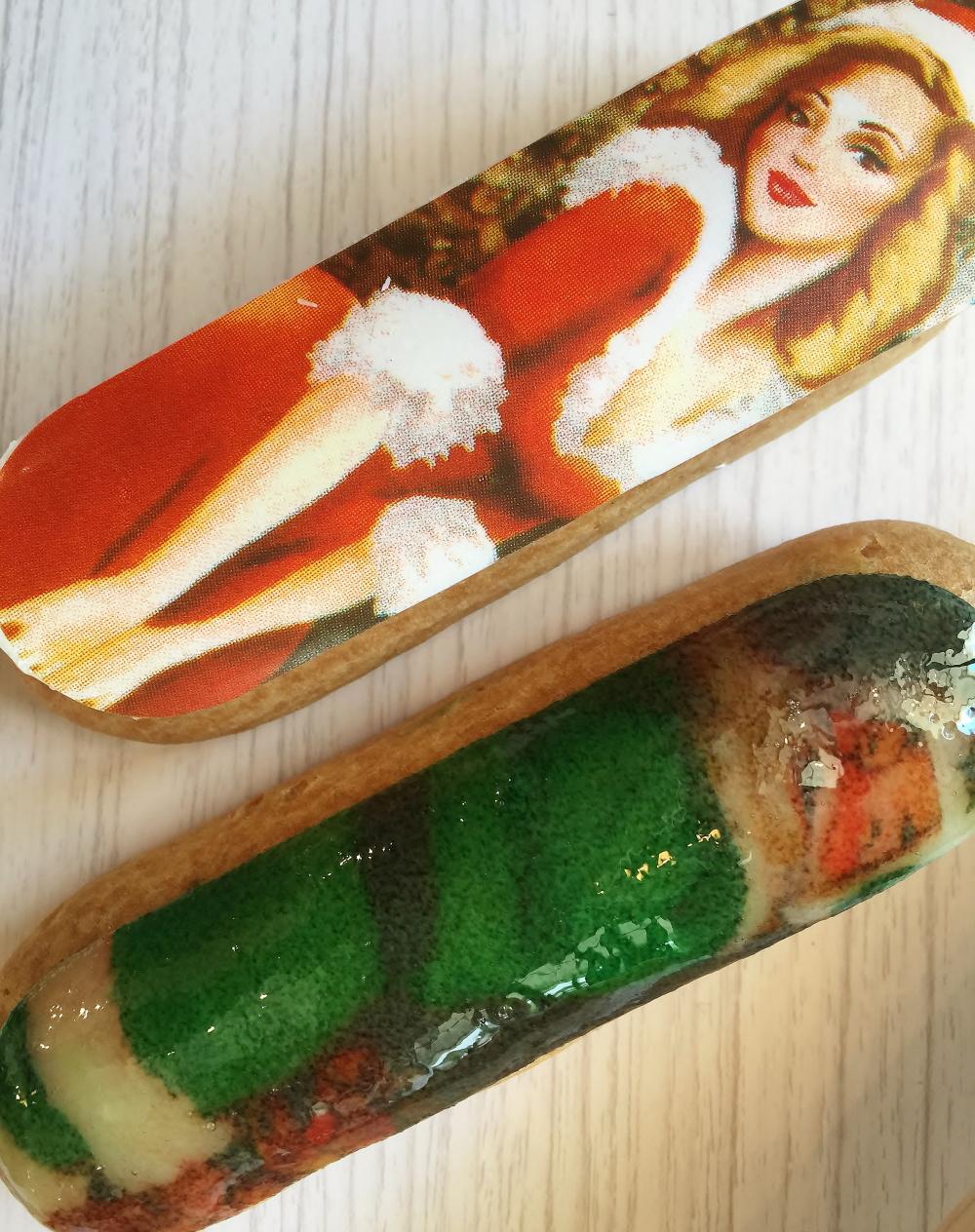 レクレール・ドゥ・ジェニ クリスマス限定 エクレア