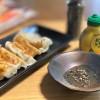 レモン果汁と黒コショウ 餃子のたれ