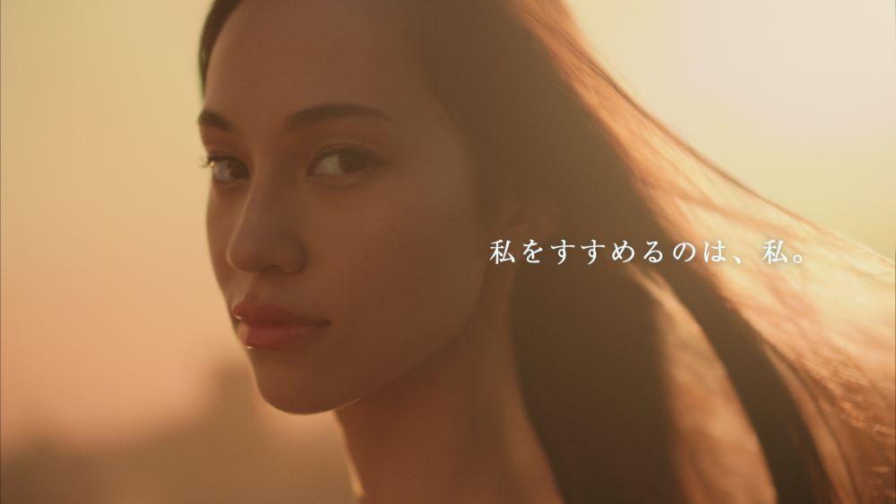 「LUX ブランドリニューアルCM」水原希子さんカット