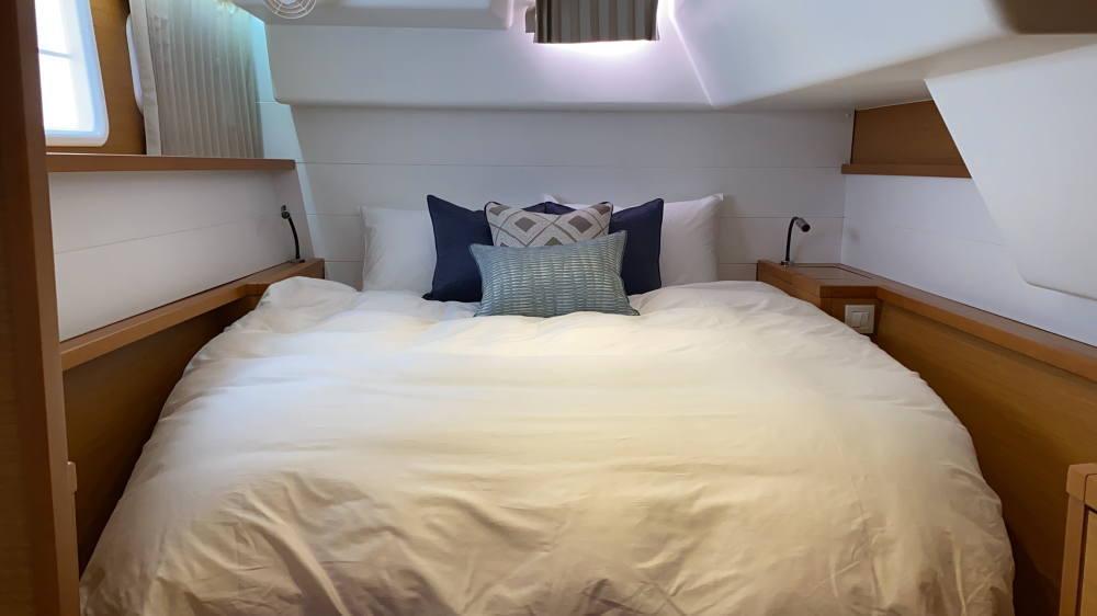 マリブホテル所有シップ内ベッドルーム