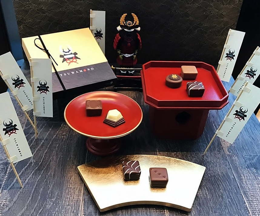 戦国武将のチョコレート