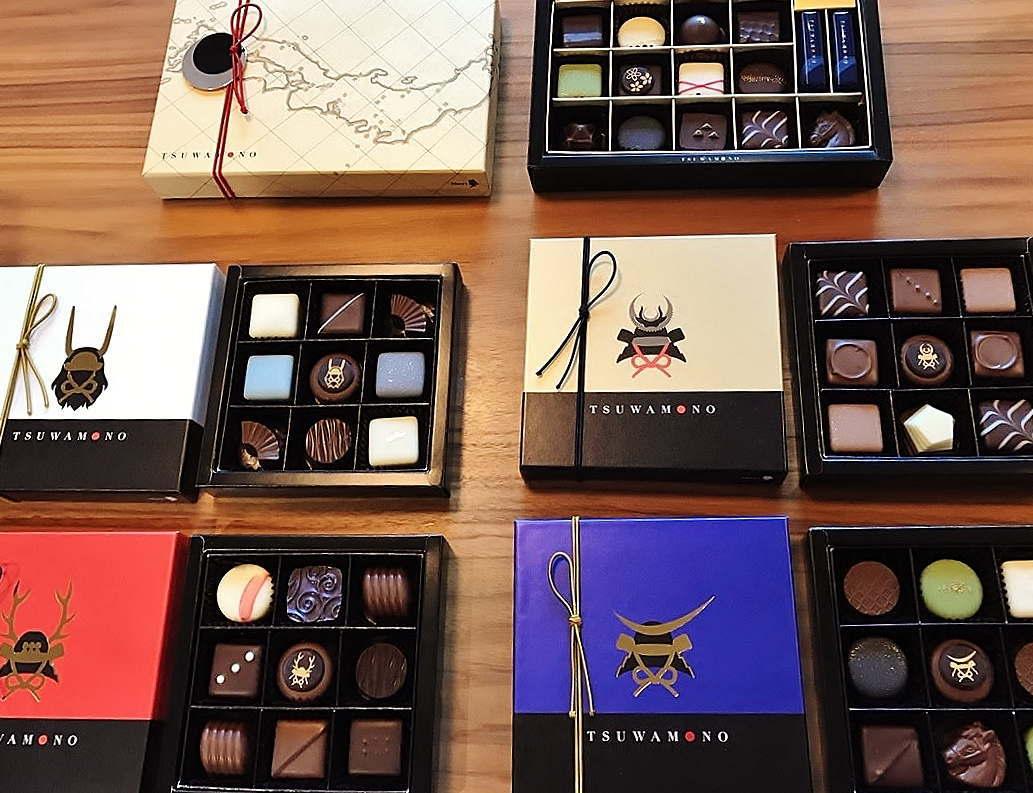戦国武将のチョコレート ツワモノ