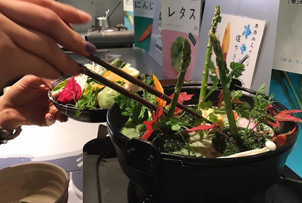 日本初のモリンガ×鍋
