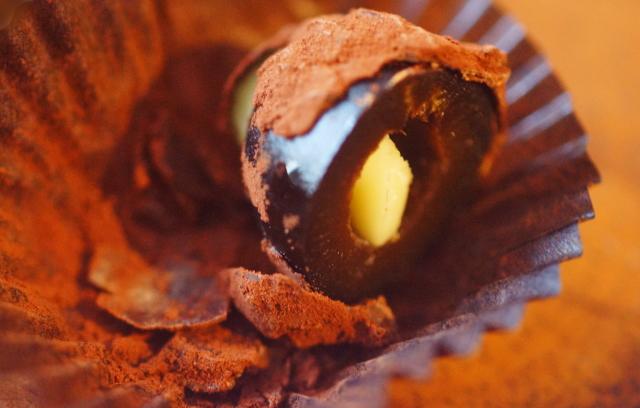 ブラックオリーブ チョコレート