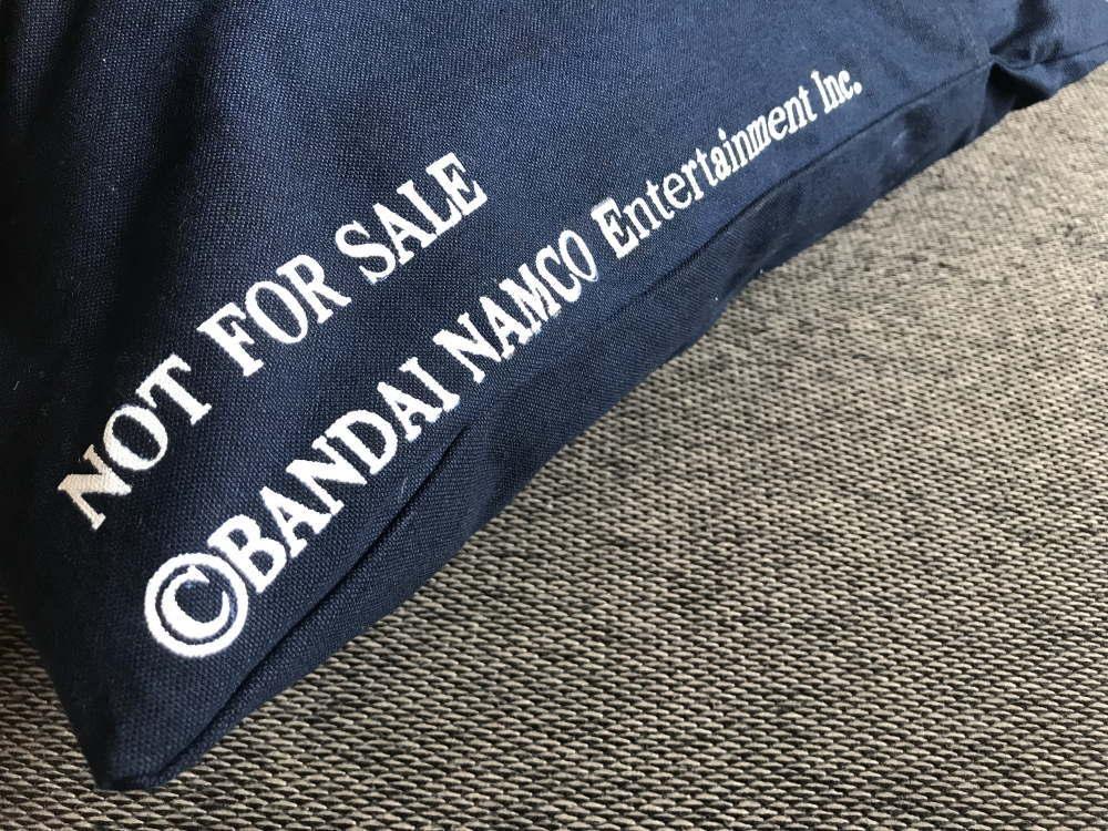 バンダイナムコ 非売品のクッション