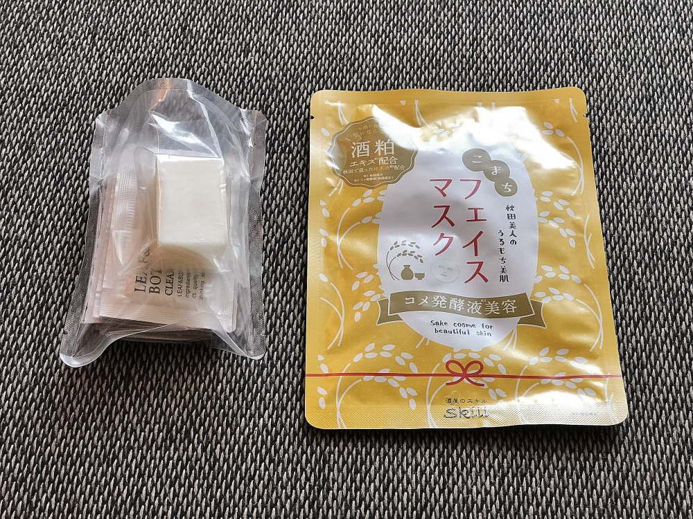神酒ノ尊 OMO5コラボ 日本酒コスメのアメニティ
