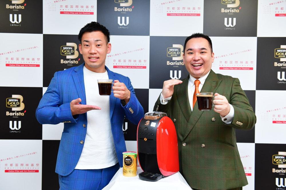「バリスタ W PRキャラクター就任オンライン発表会」