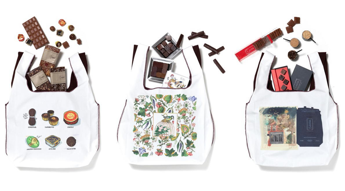 サロン・デュ・ショコラ みんなでバッグ