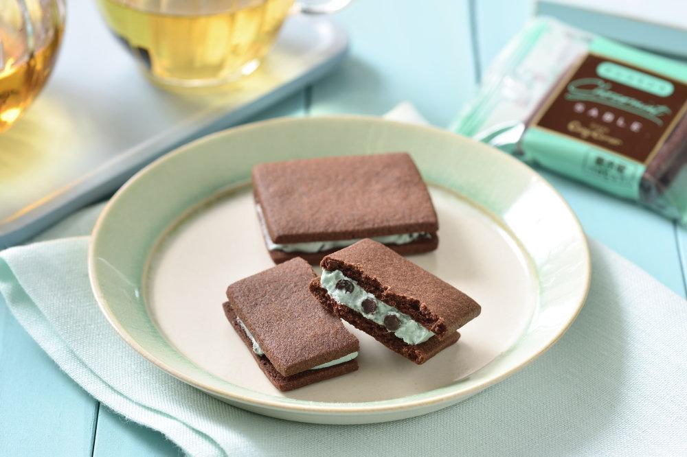 チョコミントサブレ