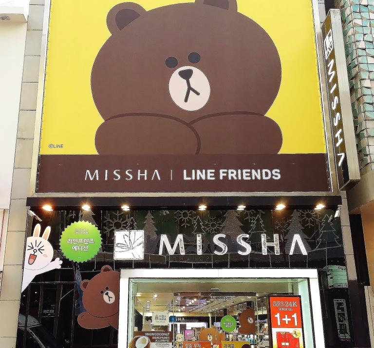 ミシャ LINEフレンズ コラボ
