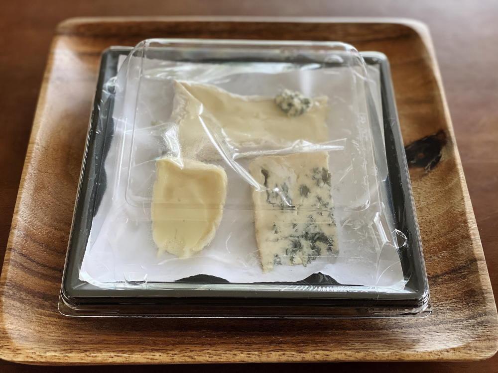 チーズとコーヒー