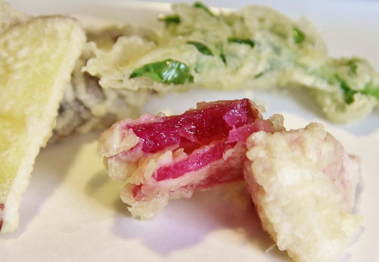 大和野菜の天ぷら