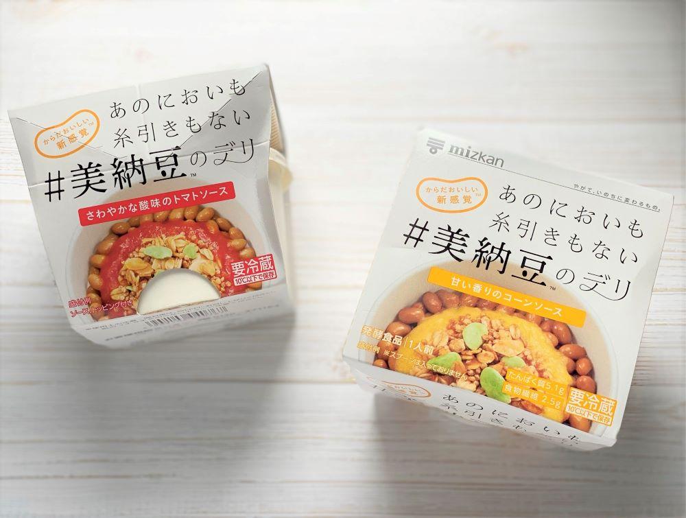 美納豆のデリ トマト コーン