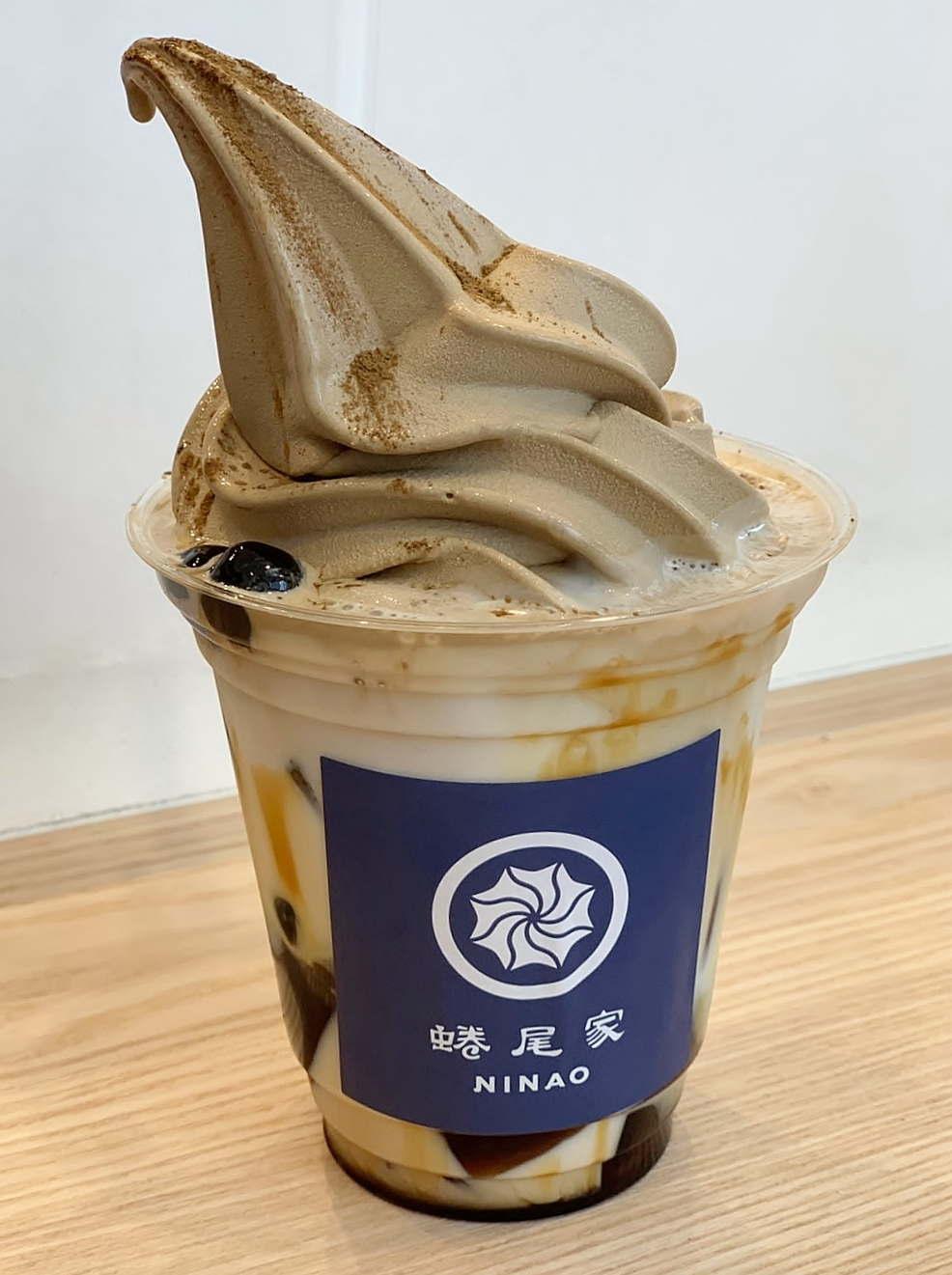 麻布十番店オープン記念フレーバー東方美人茶フロート
