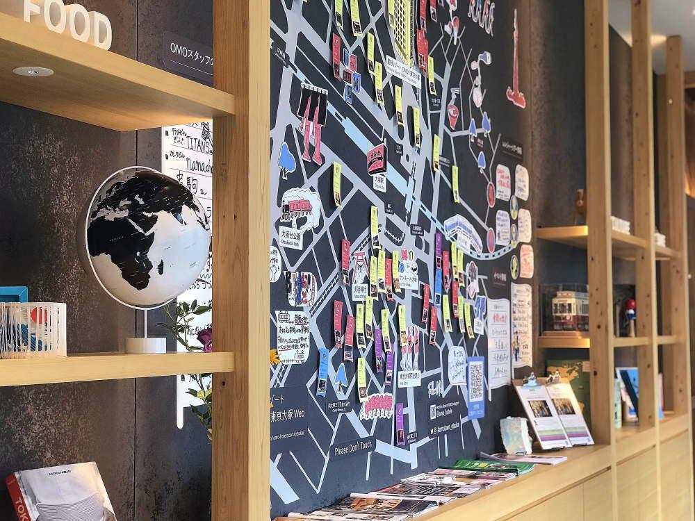 星野リゾートOMO5東京大塚 ご近所マップ