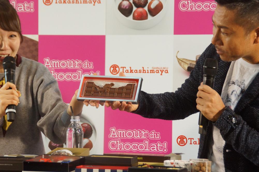 ゴジラ チョコレート