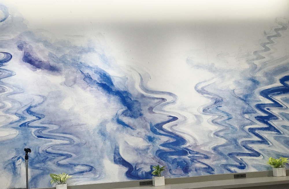 ホテル オリエンタルエクスプレス 東京銀座 ウォールアート
