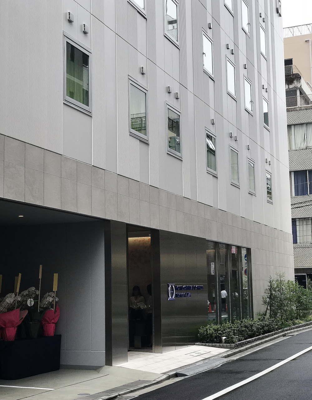 ホテル オリエンタルエクスプレス 東京銀座 外観