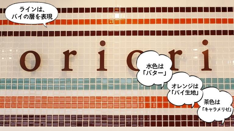 パイ専門店 oriori オリオリ ロゴの意味