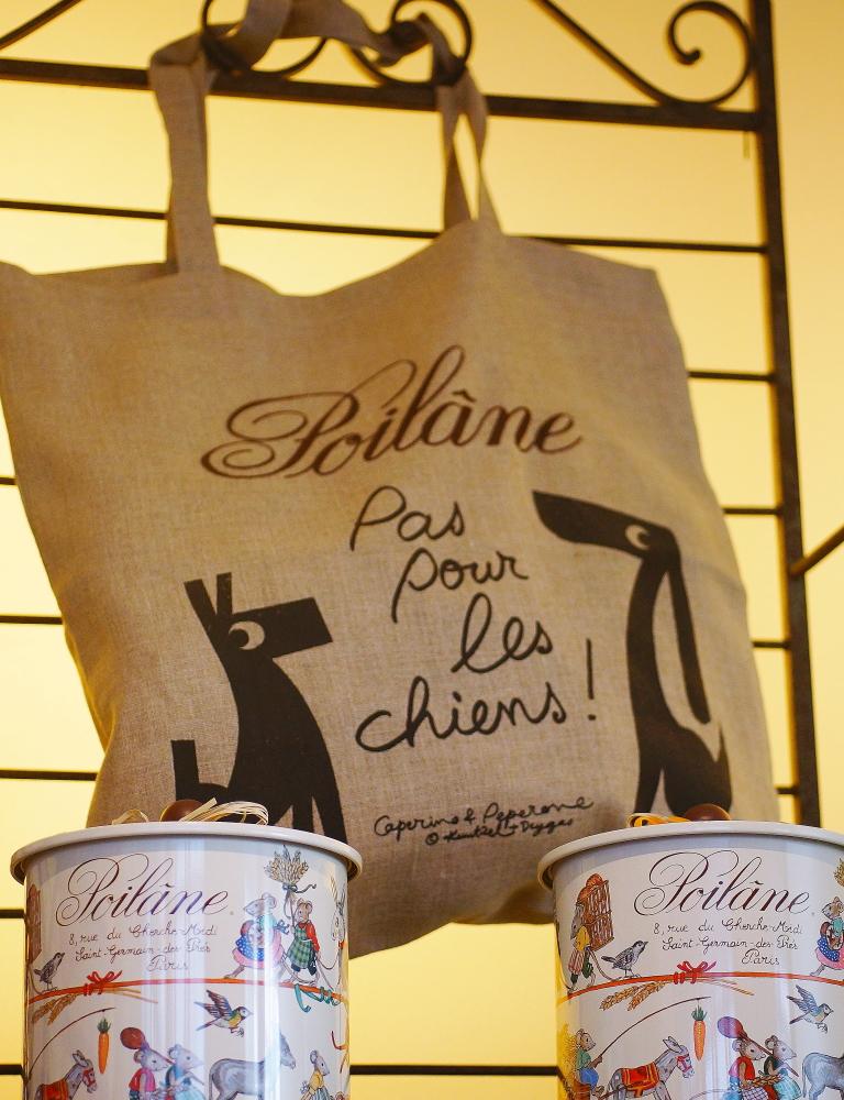 Poilane(ポワラーヌ)×コレットのリネントートバッグ