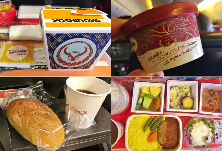 パリ行き 機内食 ブログ