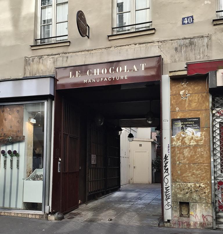 Le Chocolat Alain Ducasse Manufacture à Paris