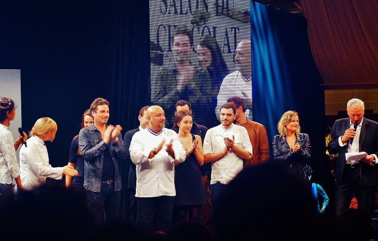 サロンデュショコラ パリ 2015
