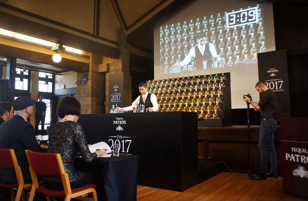 パトロンザ・パーフェクショニスト カクテルコンペティション2017 日本大会