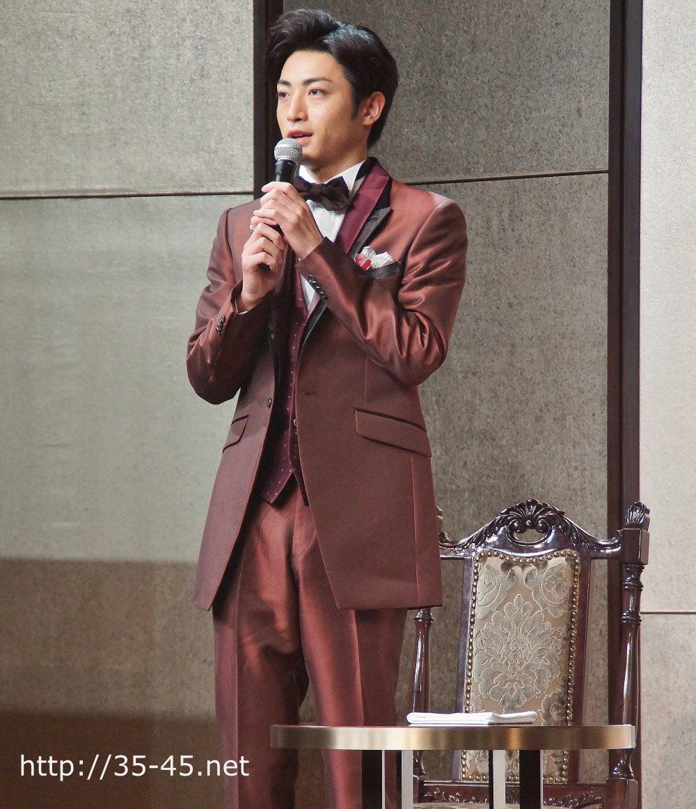 同じく、フィリップ・シャンドン伯爵役 木村達成さん